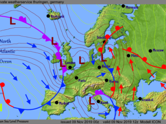 weatherconditions about europe